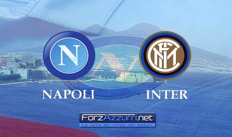 Napoli-Inter – Le formazioni ufficiali