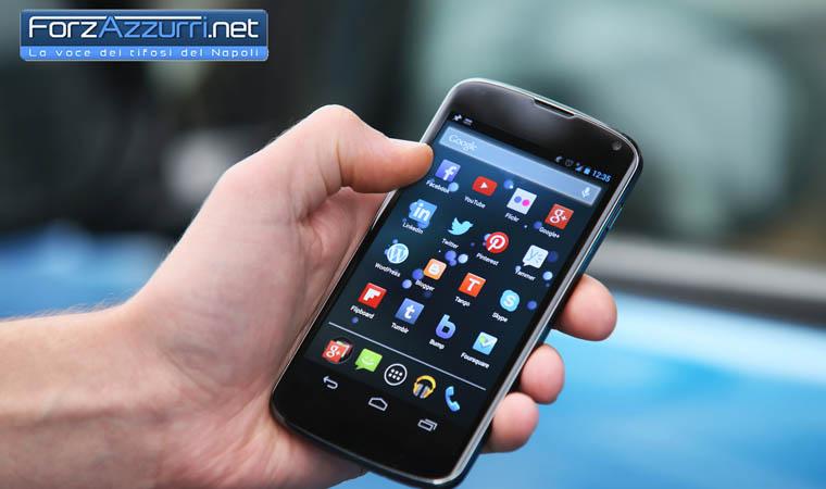 App ForzAzzurri per Android