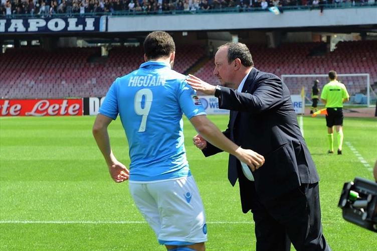"""Carmine Martino: """"Benitez si è complimentato con la squadra al termine della gara, in particolare con due azzurri"""""""