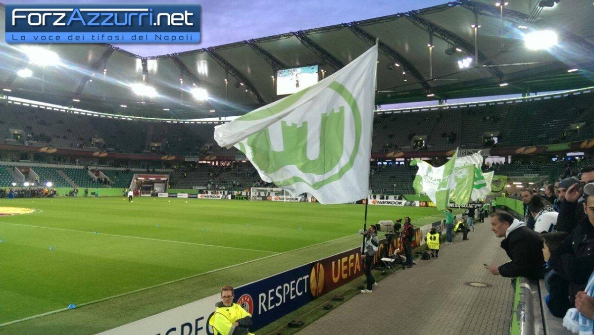 Il Wolfsburg a Napoli senza due pedine importanti