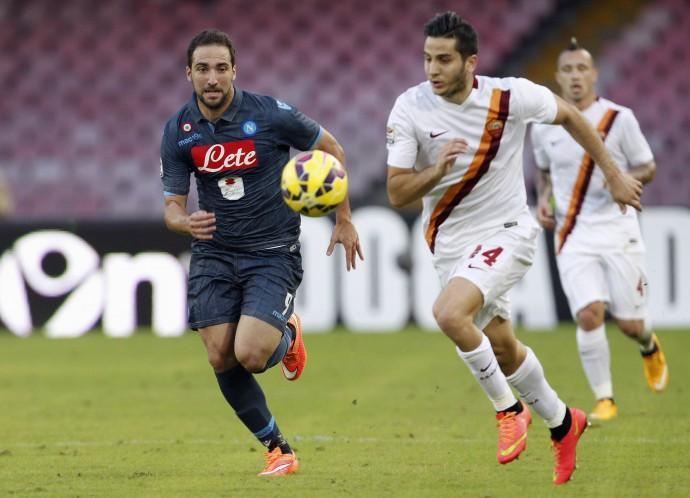 Roma-Napoli, duelli nel duello, i giallorossi pronti a fermare Higuain
