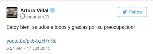 Vidal Twitter