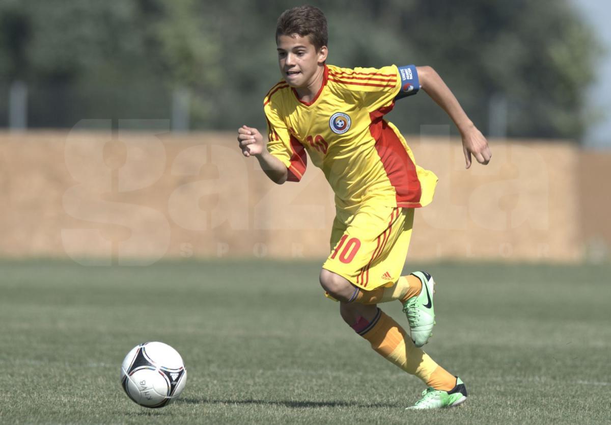 UFFICIALE: mercato giovanili,il figlio di Gheorghe Hagi va alla Fiorentina per due milioni di euro!!!