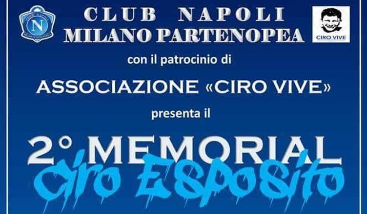"""ESCLUSIVA – Anche il Napoli Supporters Trust presente al secondo memorial """"Ciro Vive"""""""