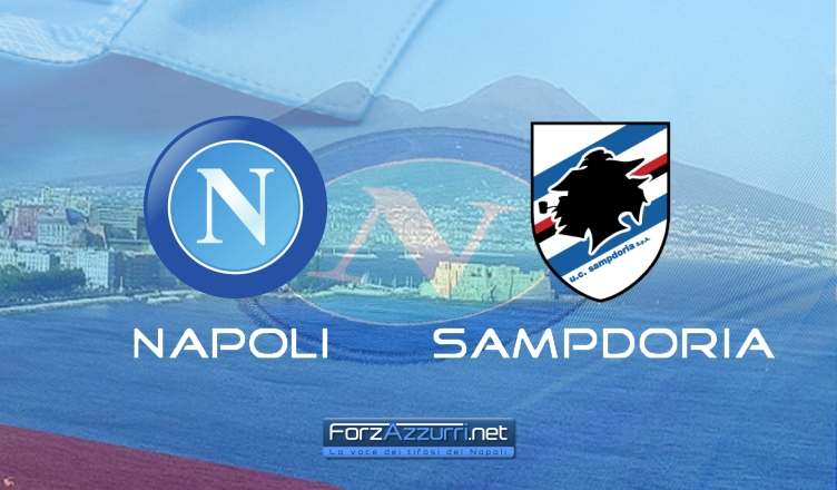 NAPOLI-SAMPDORIA, le formazioni ufficiali