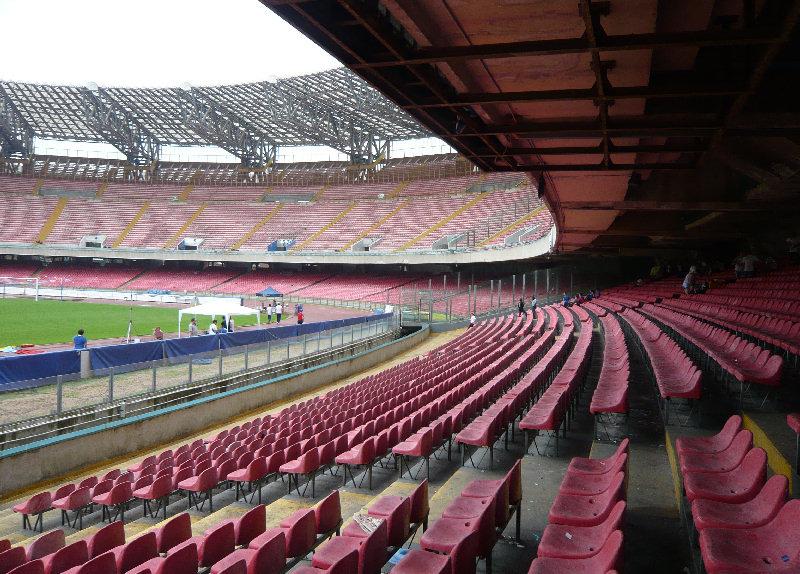 NAPOLI, Universiadi 2019 – Previsti alcuni interventi di restyling allo Stadio San Paolo