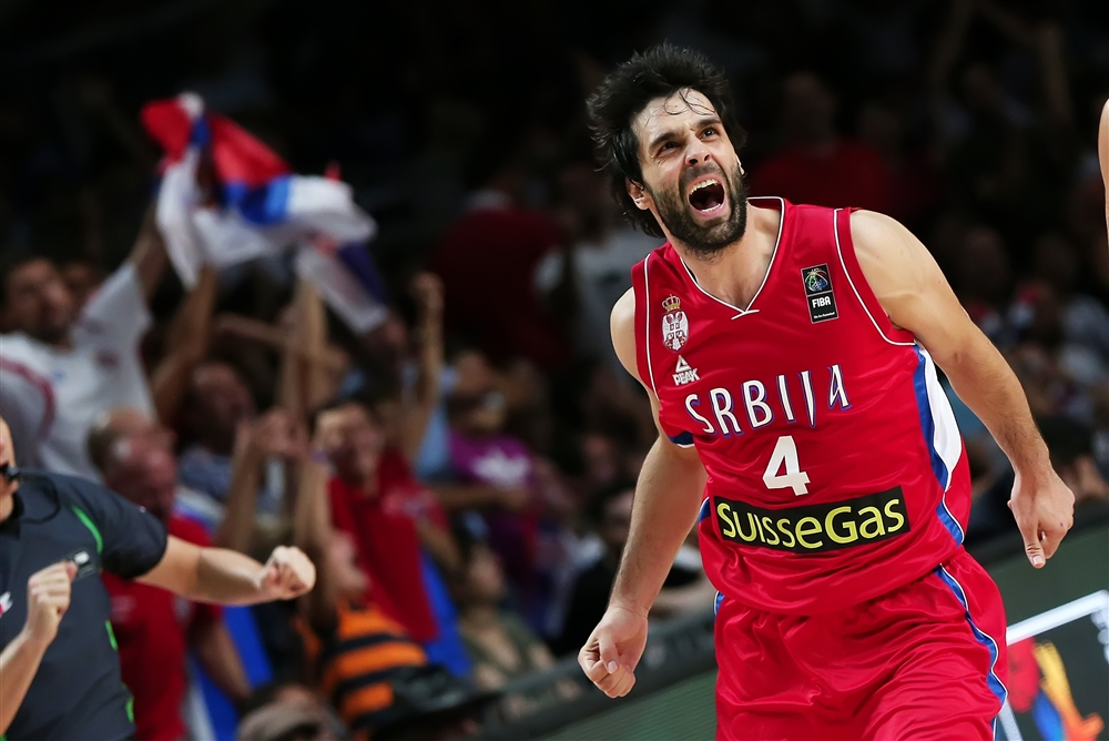 EUROBASKET – Lezione Serba all'Italia