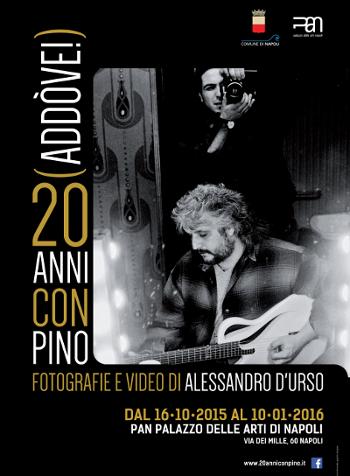 Addòve, mostra fotografica su Pino Daniele
