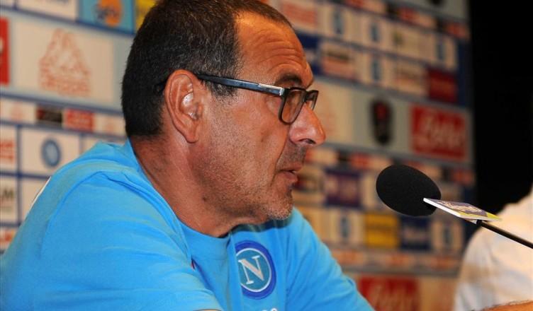"NAPOLI-PALERMO – Sarri: ""vi dico la mia su Jorginho e sui palloni invernali"""