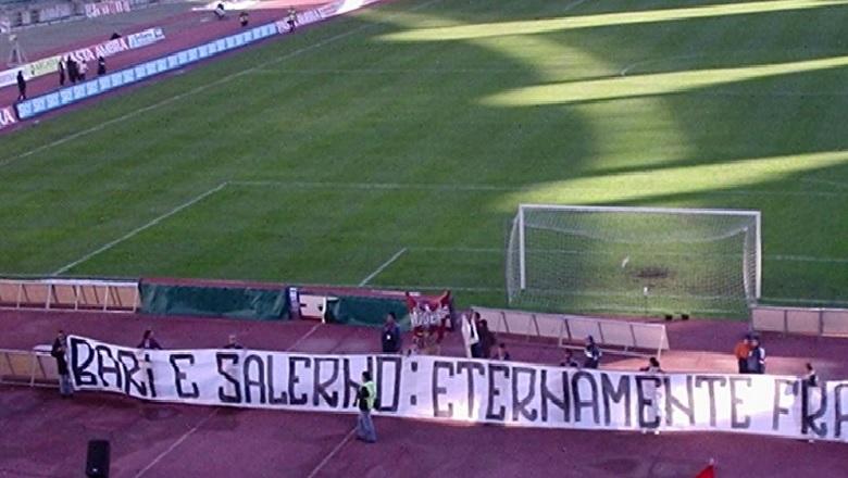 CALCIO IN CAMPANIA – Serie B, Bari-Salernitana 2-1. Sugli spalti record di presenze e gemellaggio