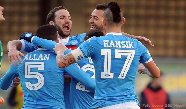 """Il Napoli è campione d'Inverno. Primato conquistato """"sul campo""""…"""