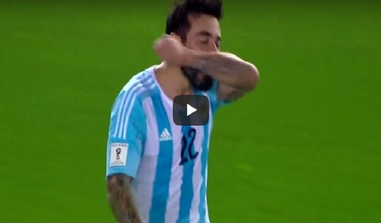 VIDEO – Argentina-Brasile, la magia di Higuain e l'abbraccio con Lavezzi