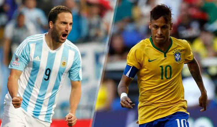 Higuain-Neymar: un diluvio ostacola la sfida e gara rinviata. Ecco quando si rigioca