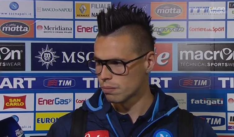 """Hamsik: """"Abbiamo dominato tutto il match è un peccato non aver vinto. Ci è mancata solo un po' di fortuna…"""""""