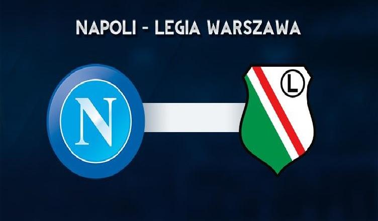 Napoli – Legia Varsavia: Formazioni ufficiali