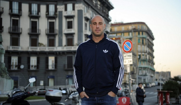 """Reina: """"Voglio chiudere a Napoli la mia carriera e trasferirmi qui anche dopo. Questa città vive di Calcio!"""""""