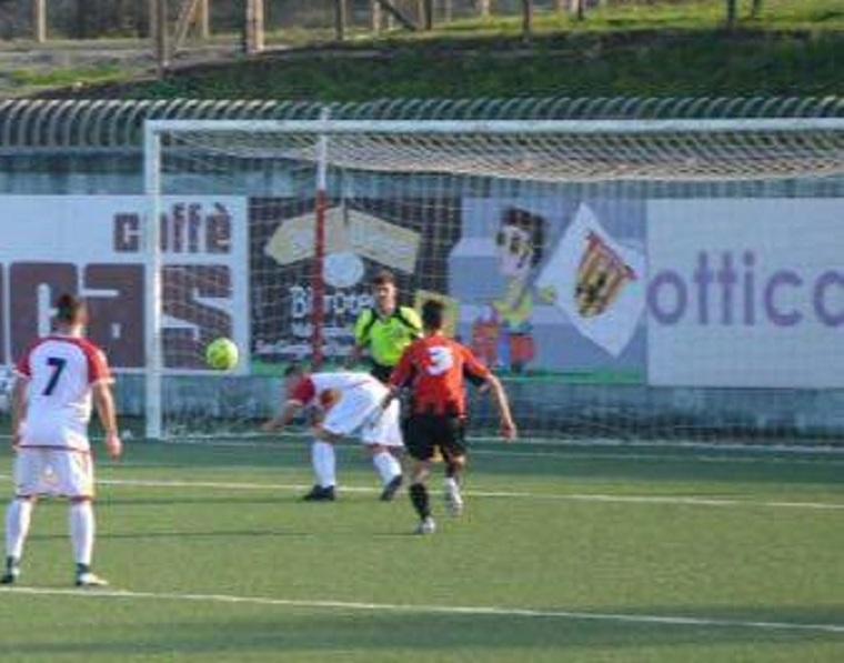 BERRETTI Benevento- Reti di Esposito,Liguori e Albano: è tris al Martina