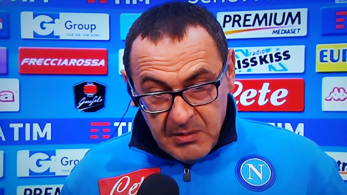 L'intervista a Maurizio Sarri