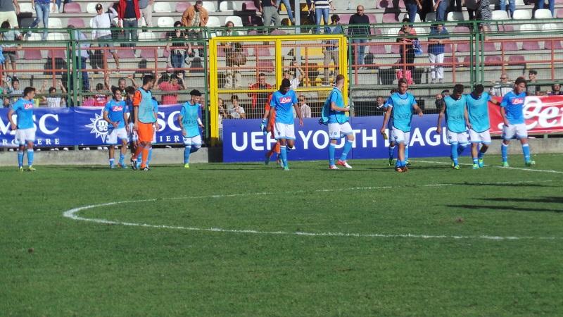 YOUTH LEAGUE- Napoli-Manchester City: non basta una grande ripresa per superare gli inglesi