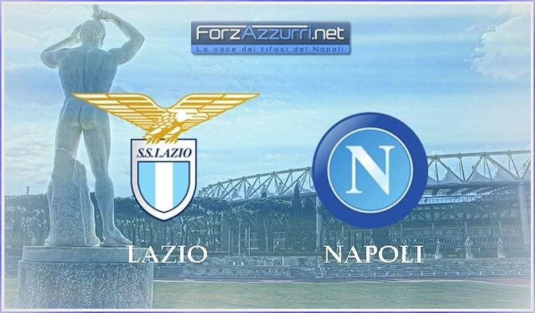 LAZIO-NAPOLI, le formazioni ufficiali