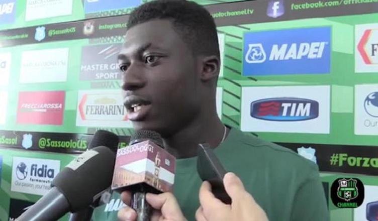 """Sassuolo, Duncan: """"Scudetto? Sono amico di Asamoah quindi dico Juventus…"""""""