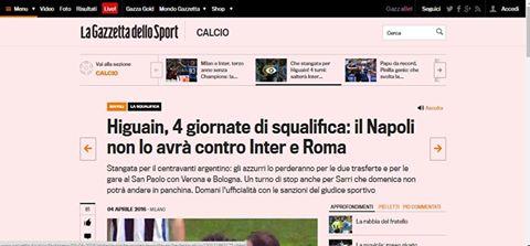 Incredibile! La Gazzetta anticipa la pronuncia di Tosel!!!