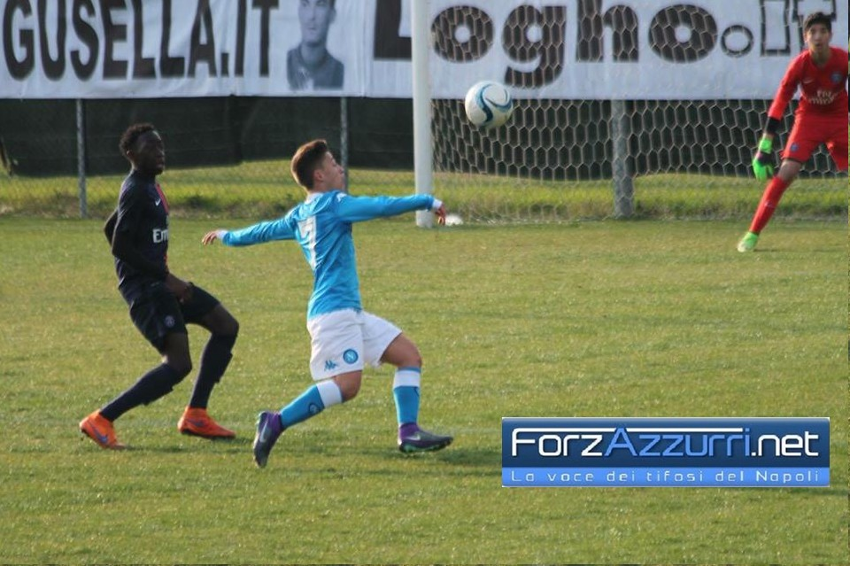 UNDER 17 NAPOLI- Termina in parità il big match con la Roma