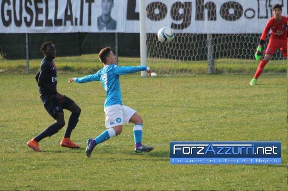 GIOVANISSIMI NAPOLI- Contro il Cosenza è 3-3, show di Tavella, Giliberti e Labriola e azzurrini che vincono il girone H