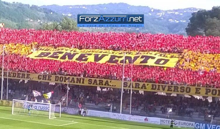 Benevento-Lecce, febbre da B: prevendita sold-out in sole 24 ore