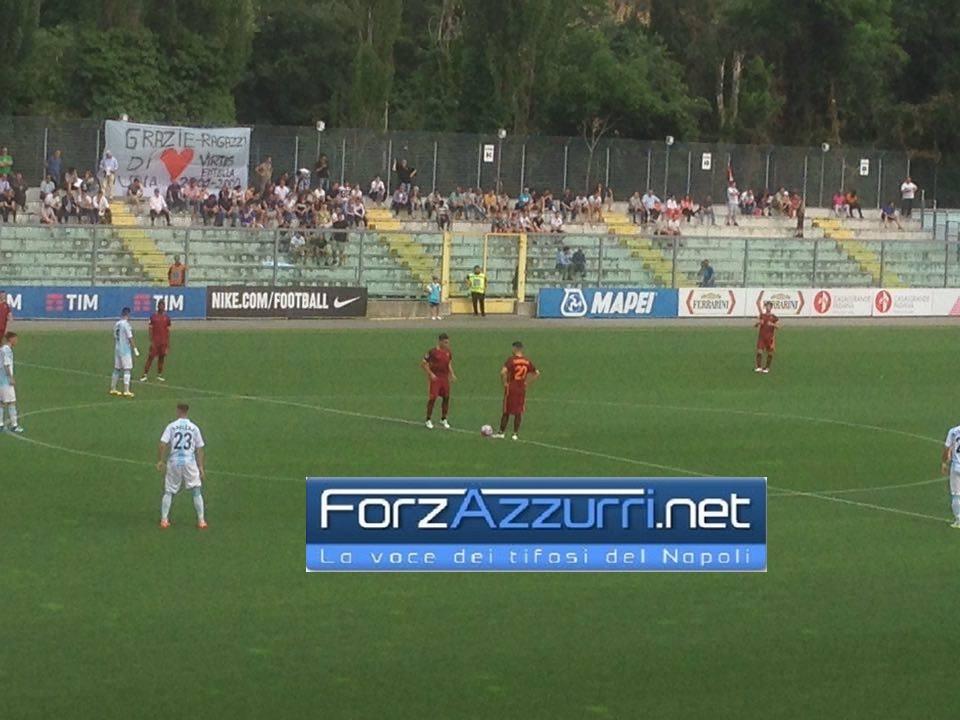 PRIMAVERA (Final Eight)- Ponce e Machin stendono l'Entella. Roma in Semifinale (Rileggi il live)