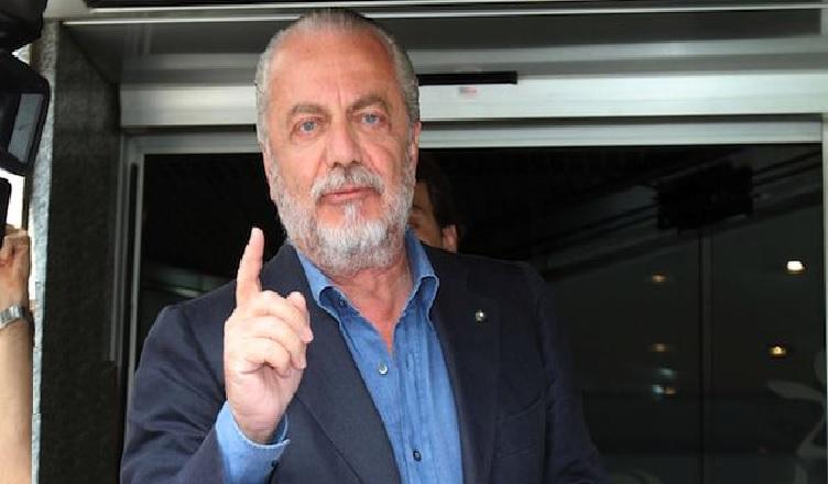 """DE LAURENTIIS: """"Sarri ha dato una lezione di calcio agli avversari. I giornalisti del nord ci odiano"""""""