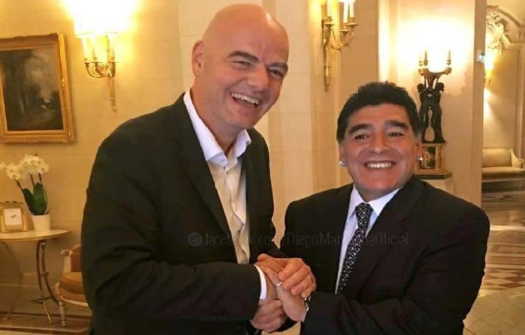 UFFICIALE – Minuto di silenzio per Maradona in tutte le federazioni FIFA