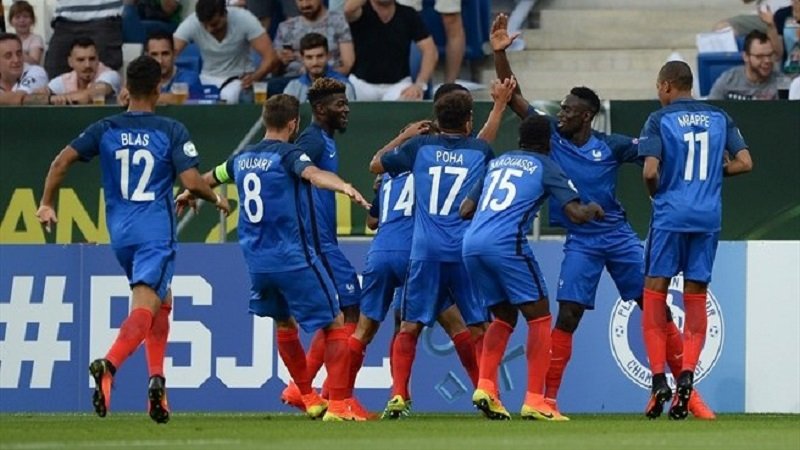 Francia campione d'Europa