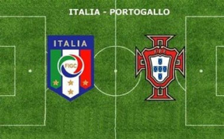 Italia – Portogallo: Primo tempo a reti bianche.