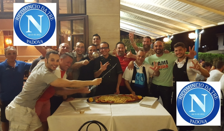 POST@ZZURRI – Tesseramento Napoli Club Padova – Ricomincio da Tre