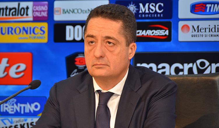 """Napoli, Lombardo: """"Bello l'esordio contro il Venezia, spero ci siano i tifosi allo stadio"""""""