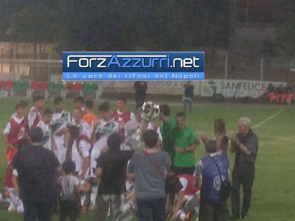 TORNEO VIGNOLA- Il Sassuolo si aggiudica la 48° edizione