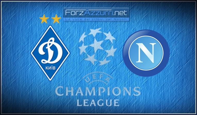 Dinamo Kiev- Napoli: le formazioni ufficiali.