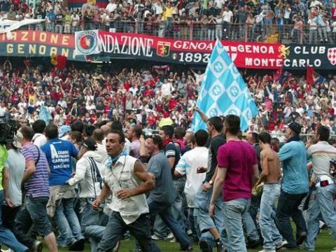 Il ritorno in A nel 2007 e la festa del Marassi