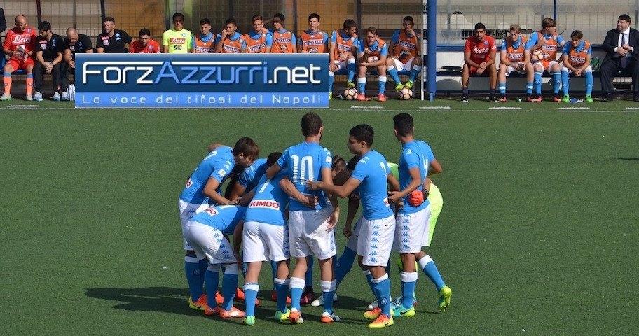 GIOVANILI NAPOLI- Derby al vertice col Benevento per Under 15 e Under 16, l' Under 17 a Terni per risalire. Il programma del 5-6 novembre