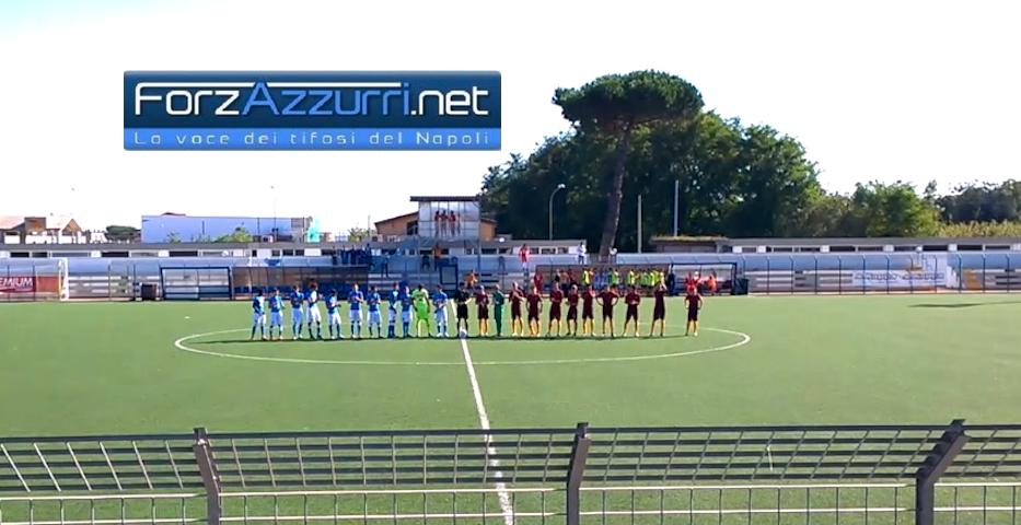 GIOVANILI NAPOLI: A Palermo l'Under 16 si salva nel finale, l'Under 15 ringrazia la panchina lunga