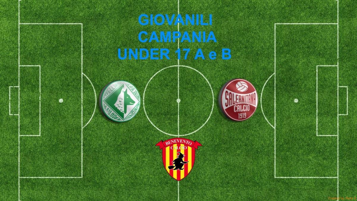"""GIOVANILI CAMPANIA- UNDER 17 A E B: derby Napoli-Avellino, Benevento: ultima chiamata! La Salernitana cerca punti """"play off"""" contro il Latina"""