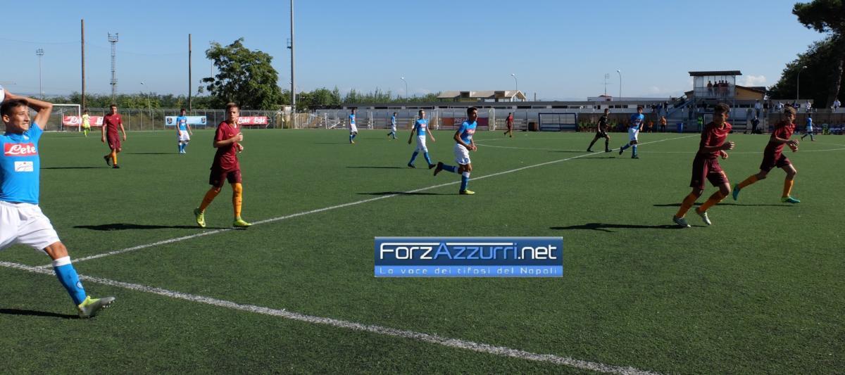 GIOVANILI NAPOLI- Under 15 e Under 16 sono macchine da gol, troppo forte la Roma per l'Under 17