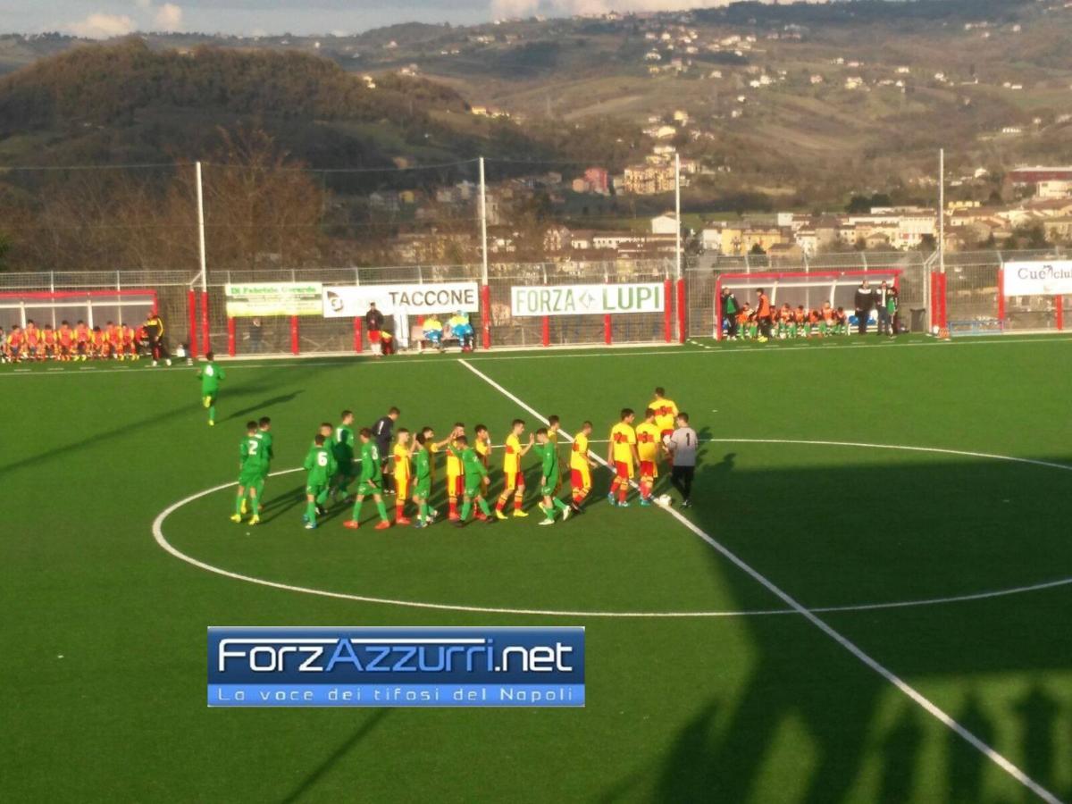 UNDER 17 Avellino- Pareggio ricco di gol contro il Benevento ma il finale è da giallo..
