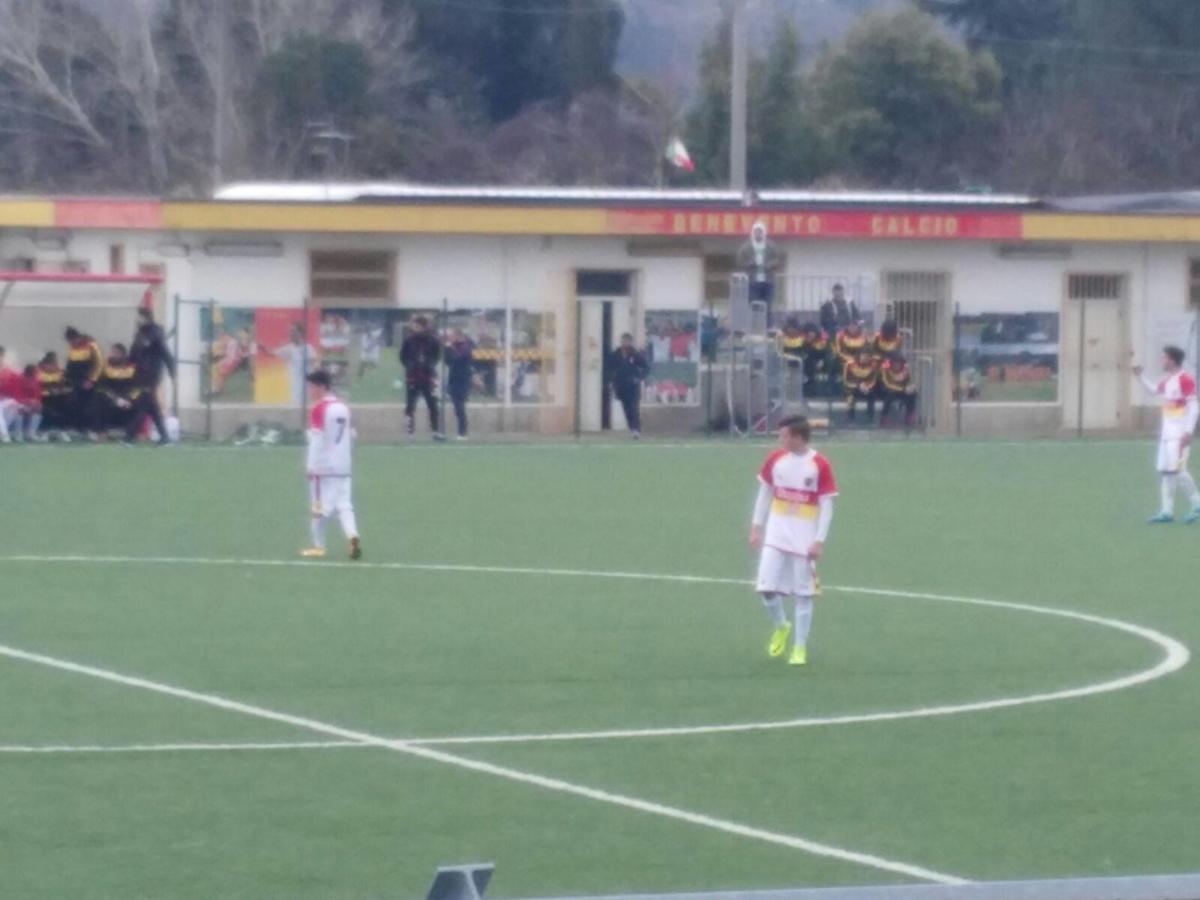 BENEVENTO- Under 15: esame superato, Delli Carpini salva l'Under 16