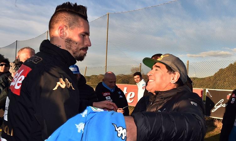 """Hamsik svela: """"Quando superai il suo record Diego mi chiamò"""""""