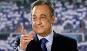 """Florentino Perez: """"I fondatori fanno il bene del calcio!"""""""