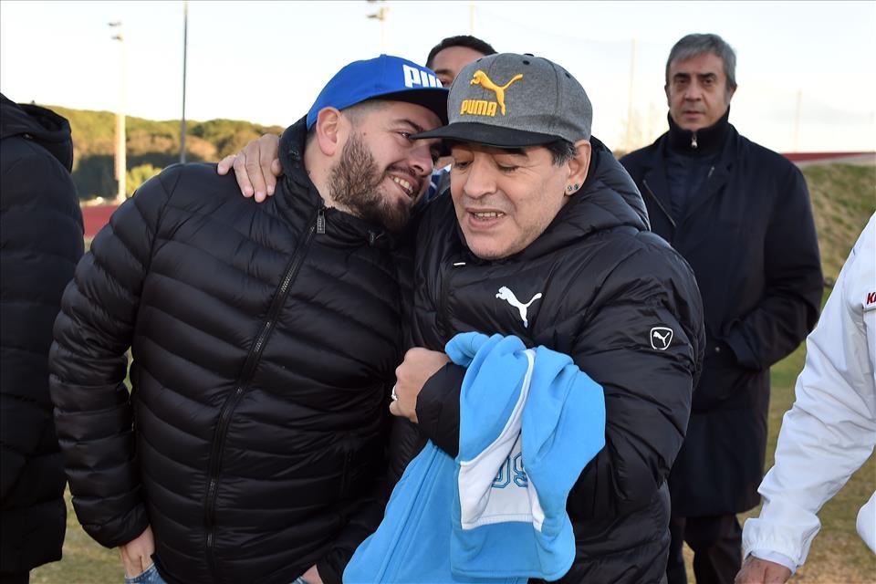 Sorpresa a Castel Volturno: Maradona jr assisterà alla seduta di allenamento di Sarri