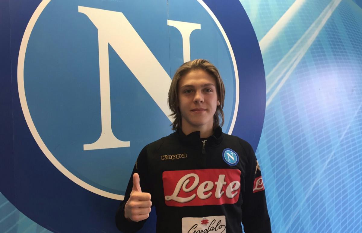 ITALIA UNDER 18- ZERBIN: momento d'oro per l'azzurrino del Napoli che segna anche alla Danimarca