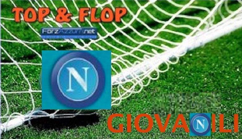 """TOP & FLOP GIOVANILI NAPOLI- I gemelli diversi """"Guadagni"""", il capitano-goleador Granata e la seconda volta di Ansani su, il prevedibile calo dell'Under 15 giù. Il meglio e il peggio dell' 11-12 febbraio."""